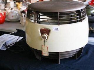 Round Fan  Sears  Works  Powers on