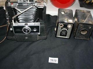 Polaroid Auto land Camera  Brownie Target