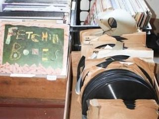 Records  3 Boxes of 10  and 12  records