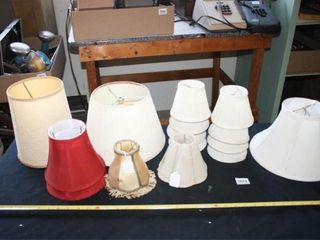 lampshades 15 total