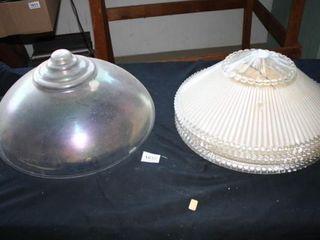 Round Glass Globes  Iridescent  Decorative