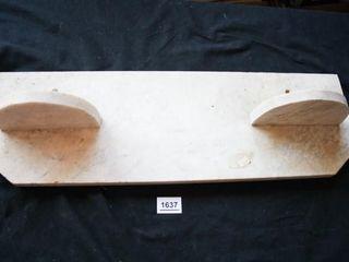 Marble like shelf 251 4  long 8  tall x  75
