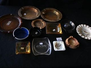 Various Ashtrays  13   Ted s Auto  Crescent