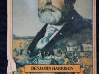 Benjamin Harrison Collector Card