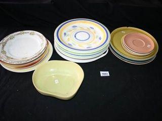 Dinnerware  Plates  salad plates  bowl
