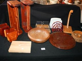 Wooden Kitchen Items  Napkin HoldersIJ