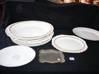 Serving Platters  10  total  Homer laughlin
