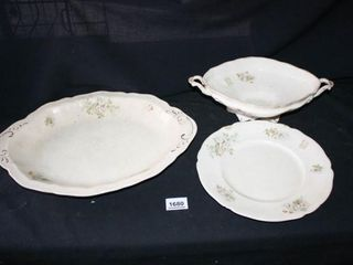 Johnson Bros  England Dishes  Platter  Plate