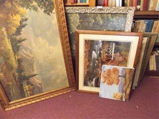 landscape Art in Frames  7  Canvas  2