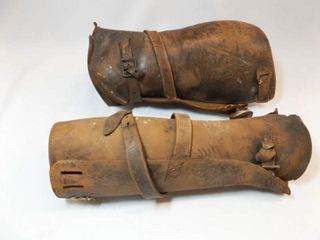 leather leg Covers  2