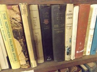 Books   Magazines   3 Shelves   approx 100