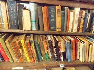 Books  2 Shelves   approx 60