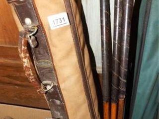 Burton Golf Bag w leather