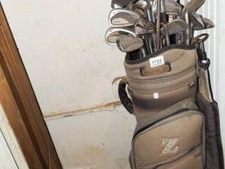 Super Z Golf Bag  Irons  approx 20