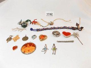 Pins  Pendants  Beaded Pieces  15