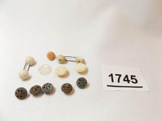 Old Shoe Buttons  10