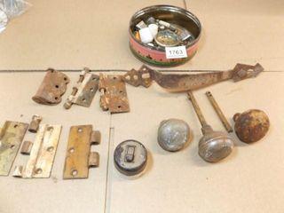 Metal Hingers  Knobs  Handle  Etc