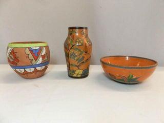Pottery Bowls  Vase  3