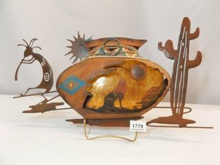 Metal Art  Native American Style