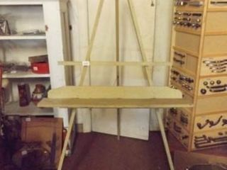 Wooden Easel  62  x 25