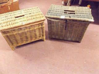 Two Baskets with lids
