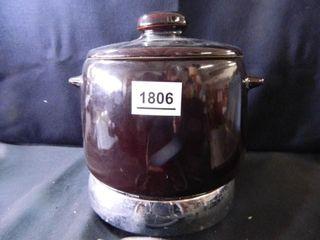 West Bend Crock Jar w Warmer