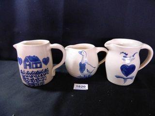 Pottery Pitchers   3