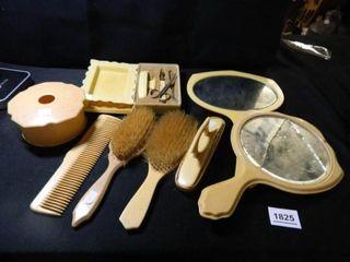 Vintage Vanity Items  Mirrors
