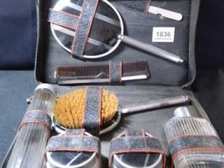 Men s  Travel Kit  Glass Bottles