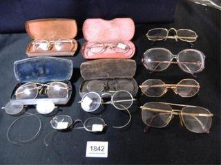 Eye Glass Assortment   11  pair