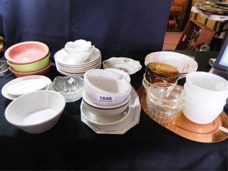 Soup Bowls  Saucers  Fireking Cups