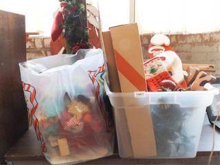 Christmas Decor  Bag of Bows