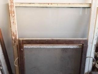 Board Frame Windows  Two with Glass  4