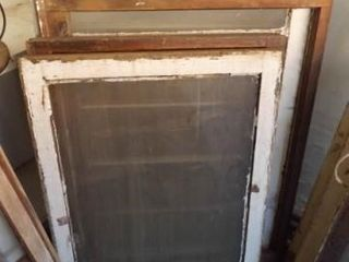 Board Frame Windows  Four with Glass  5