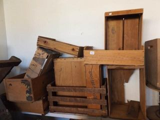 Crates  Wood Boxes  11