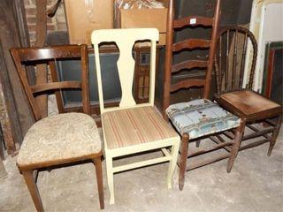 Wood Chairs  4