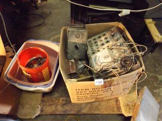Old Electronics  Flat Dolly  Etc