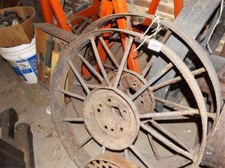 Metal Wheels  27  pair
