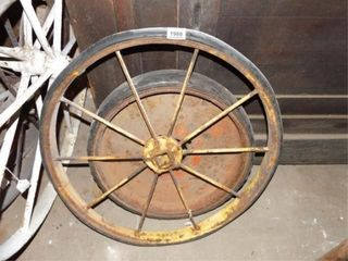 Metal Wheels with Rubber  2