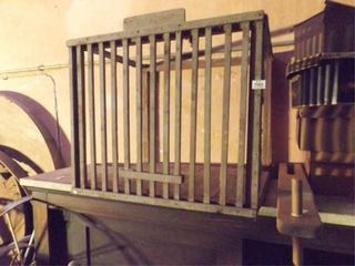 Wooden Items  2  possible cage  other
