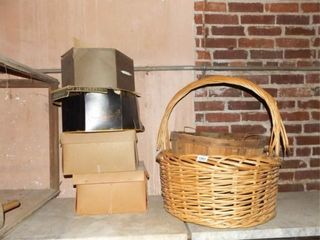 Hat Boxes  4  Baskets