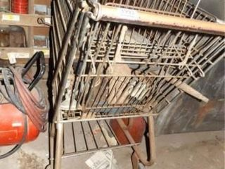 Grocery Cart  Variety of Pieces  Parts Inside