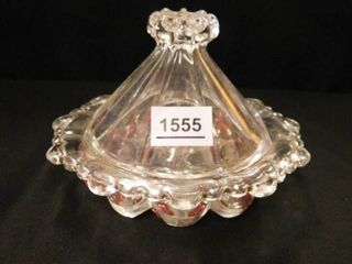 Vintage Candy Dish w lid