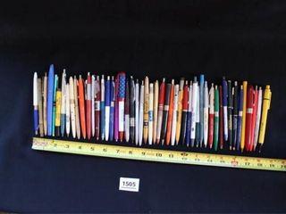 100 Adjustable Ink Pens
