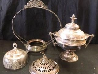 Silver Plated Items   4