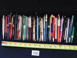Adjustable pens