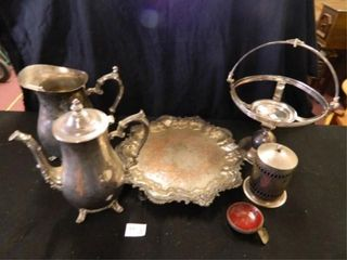 Silver Plate  Pitchers Unmarked