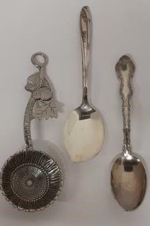 Birks Regency Plate Spoon lot