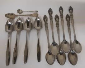 England EPNS Mustard Spoon lot