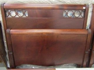 Cherry Finish Twin Bed